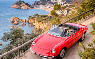 Alfa Romeo Spider Duetto 1600 Rent Cataluña