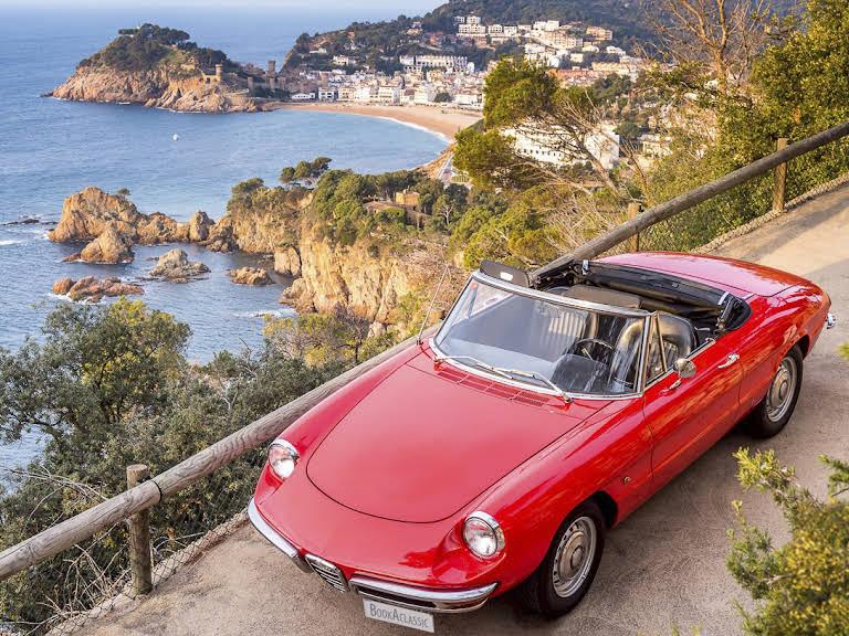 Alfa Romeo Spider Duetto 1600 Hire Barcelona