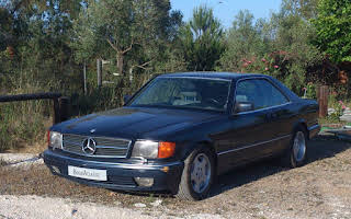 Mercedes W126 560 Sec Rent Andalucía